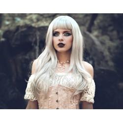 Collier ras de cou doré star 666 Elvira 666