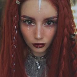 Collier chaine argenté Moon Cleopatra Roga