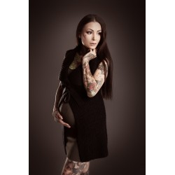 Bracelet argenté plumes Vicky Esoteric