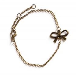 "Bracelet couleur bronze ""Noeud"""