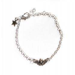 """Bracelet couleur argenté """"Angel"""""""