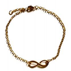"""Bracelet couleur doré """"Infini Or"""""""