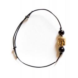 """Bracelet couleur doré """"Bouddha 2"""""""