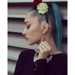 Boucles d'oreilles argentées femme Star Wars Kylo Ren ♠Stormtrooper♠
