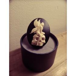 Bague réglable bronze cabochon camée Le Seigneur des Anneaux Lord of Rings elfe ♰Galadriel♰