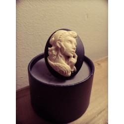 Bague réglable bronze cabochon camée calavera dia de los muertos mexican gypsy bohème ♰Dia de los Muertos♰