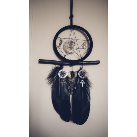 "Dreamcatcher attrape rêve goth dreamcatcher "" 666 Witchy Cleopatra 666 """