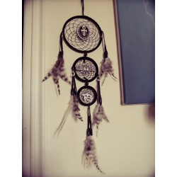 "Dreamcatcher attrape rêve goth dreamcatcher "" 666 Scarabeo 666 """