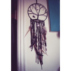 "Dreamcatcher attrape rêve goth dreamcatcher "" 666 Tree of Life 666 """