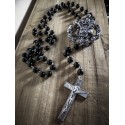 "Chapelet rosaire motorcycle Bobber Chopper Hipster Harley Davidson Sporter ""Cross"